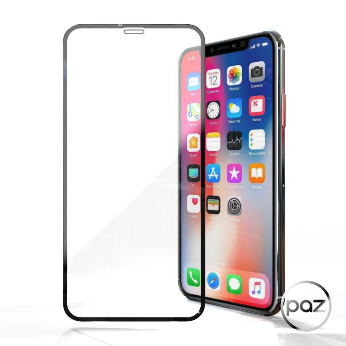 PAZ iPhone 系列 11/XR 11 Pro/XS 3D邊緣防護鋼化玻璃 全滿版鋼化膜保護貼