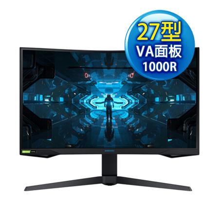 新上市 SAMSUNG三星 Odyssey G7 C27G75TQSC 27型 1000R 2K VA曲面 電競螢幕