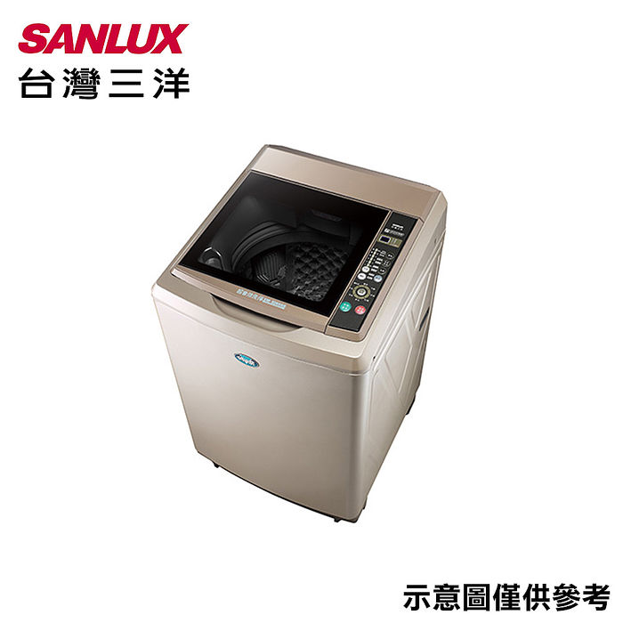 【SANLUX台灣三洋】15公斤超音波單槽洗衣機 SW-15NS6