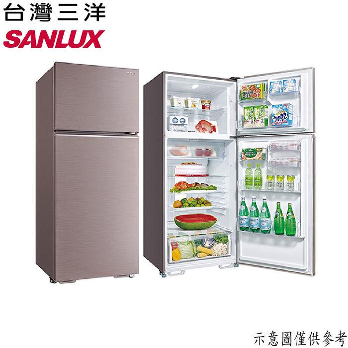 【SANLUX台灣三洋】480公升1級能效雙門冰箱 SR-C480B1B(冰箱特賣)