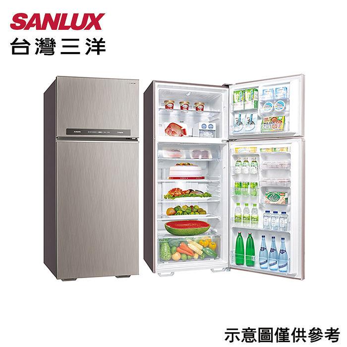 【SANLUX台灣三洋】533公升1級能效變頻雙門冰箱 SR-C533BV1A