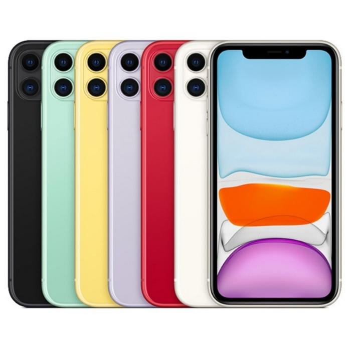 Apple iPhone 11 128G 6.1吋空機 加贈玻璃保護貼+保護殼+手機支架