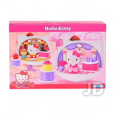 任選-【Hello Kitty-家家酒系列】凱蒂貓魔幻場景-舞台 (04651)