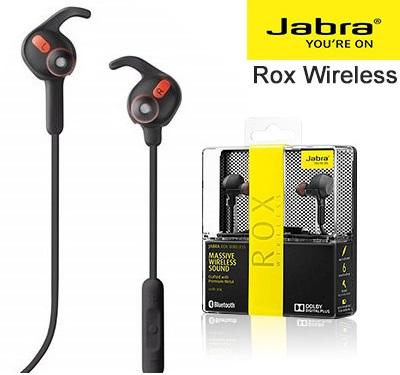 【Jabra】ROX WIRELESS 無線藍牙耳機(黑/白)