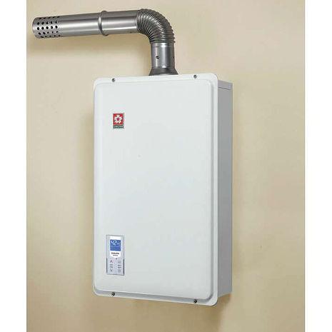 櫻花 SAKULA 16公升 浴SPA 數位恆溫 強排熱水器 SH-1633 (SH-1633L)桶裝瓦斯