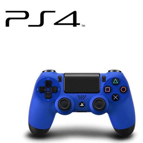 PS4 DUALSHOCK4 無線控制器 (海浪藍) 贈:手把果凍套-相機.消費電子.汽機車-myfone購物