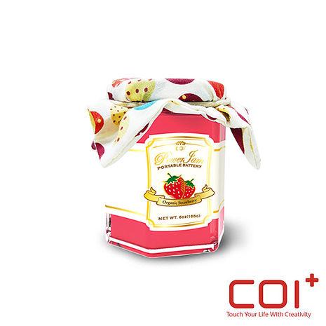 【COI+】PowerJam 果醬罐 6000mAh行動電源 -野莓