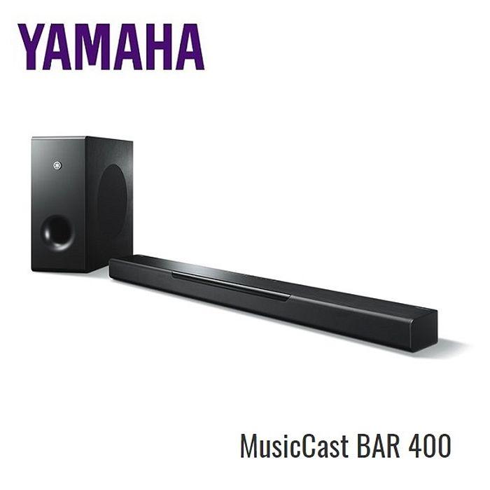 【e即棒】YAMAHA 山葉 MusicCast BAR 400 家庭劇院聲霸 YAS-408 (門號專案)