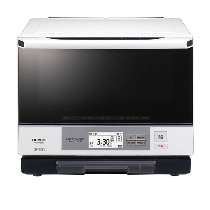 HITACHI 日立 MRO-NBK5000T 日本原裝 33L過熱水蒸氣烘烤微波爐 公司貨(烤箱特賣)