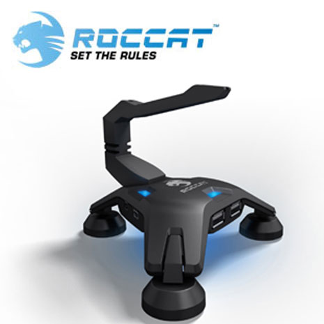 ROCCAT Apuri 蠍子型USB集線器 具線夾功能 USB Hub
