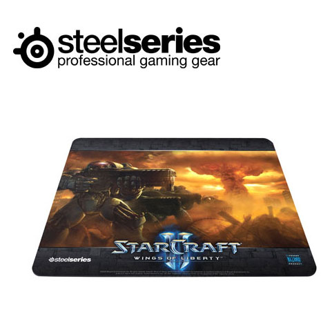 SteelSeries QcK 星海爭霸II 中布質鼠墊陸戰隊