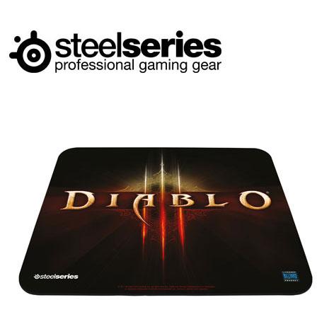 SteelSeries QcK 暗黑破壞神3 中布質鼠墊暗黑3LOGO版