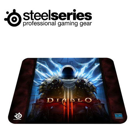 SteelSeries QcK暗黑破壞神3 大布質鼠墊泰瑞爾版