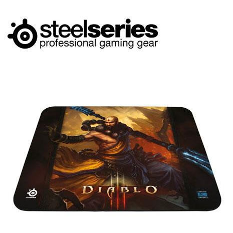 SteelSeries QcK 暗黑破壞神3 中布質鼠墊武僧版