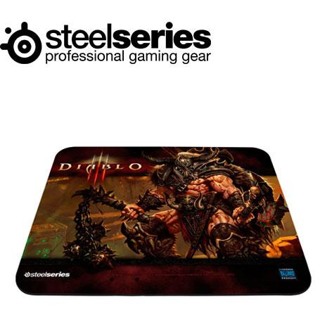 SteelSeries QcK 暗黑破壞神3 中布質鼠墊野蠻人版