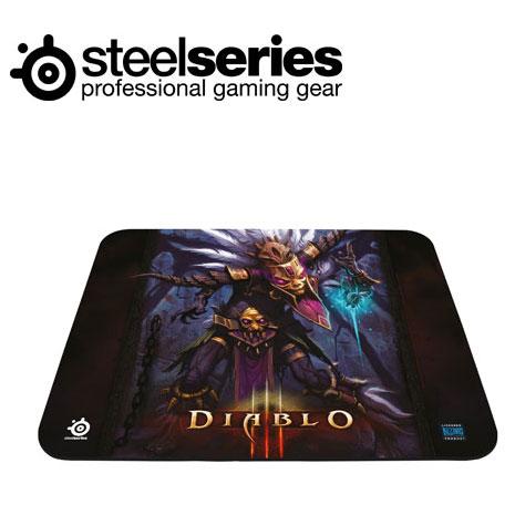 SteelSeries QcK 暗黑破壞神3 中布質鼠墊巫醫版