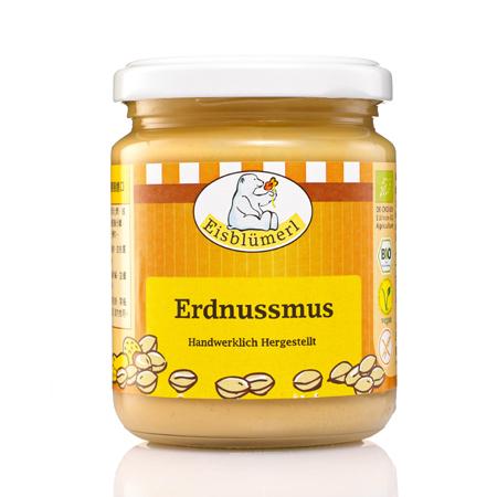 【德國Eisblumerl】有機顆粒花生醬(250g*4瓶)(預購)