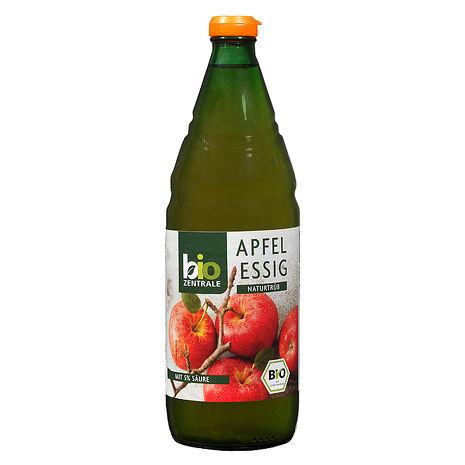 【德國BZ】有機蘋果醋-未過濾(750ml*3瓶)