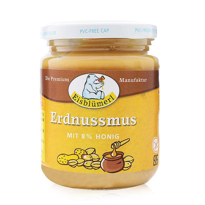 【Eisblumerl】德國蜂蜜花生醬 (250g*3瓶)(預購)