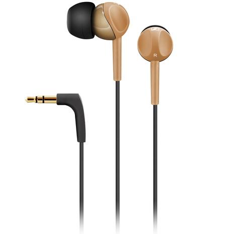 Sennheiser 耳道式耳機CX215棕