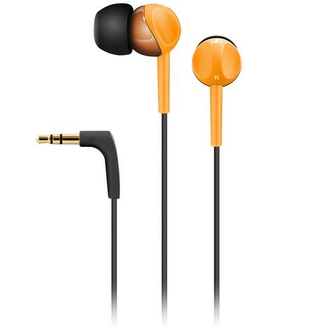 Sennheiser 耳道式耳機CX215橘