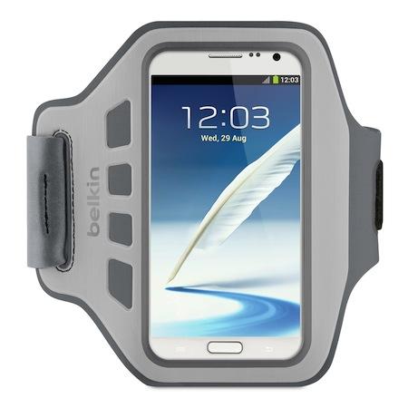 Belkin 舒適 運動 臂套 Armband Galaxy Note II 灰色