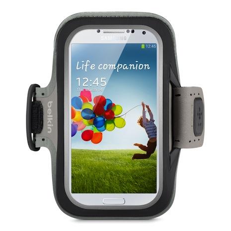 Belkin 舒適 運動 臂套 Armband Galaxy S4 黑色-手機平板配件-myfone購物