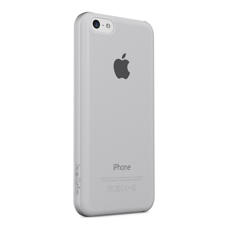 Belkin iPhone 5C 超薄 透明 保護殼 白色