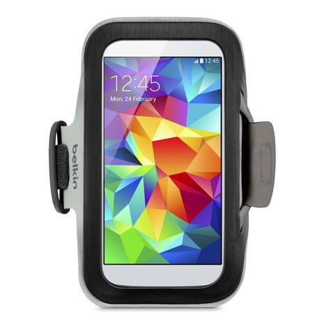 Belkin 舒適 運動 Bekin 5.1吋 通用型 運動臂套 黑色-手機平板配件-myfone購物