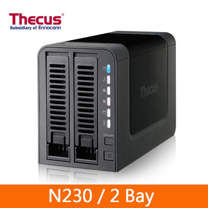 Thecus 色卡司 (N2310) 2 Bay 網路儲存伺服器