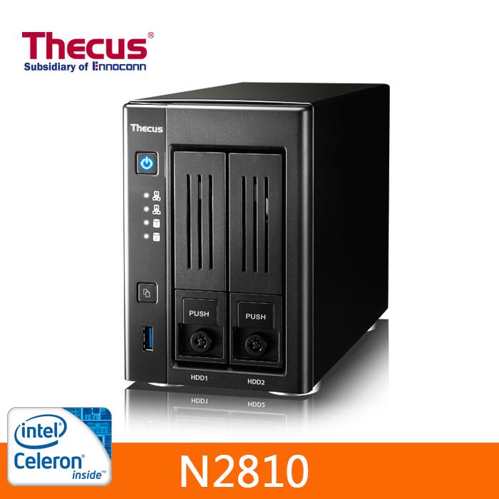 Thecus 色卡司 (N2810) 網路儲存伺服器