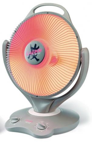 巧福紅外線炭素纖維 電暖器AS-110C