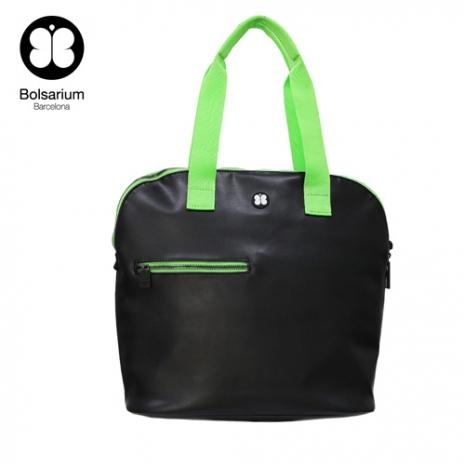 VAX BOLSARIUM 卡拉麗萬用托特包 (14吋筆電包)-黑綠