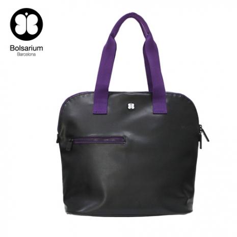 VAX BOLSARIUM 卡拉麗萬用托特包 (14吋筆電包)-黑紫