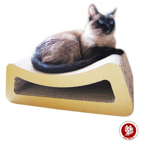 Box Meow 瓦楞貓抓板-小躺椅 CS012