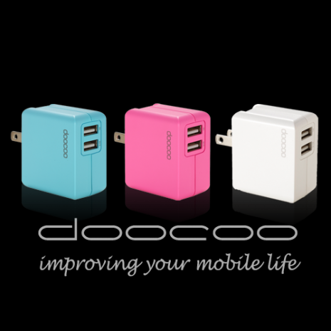 doocoo itofu2 2.1A dual USB Adaptor (雙輸出USB充電器)
