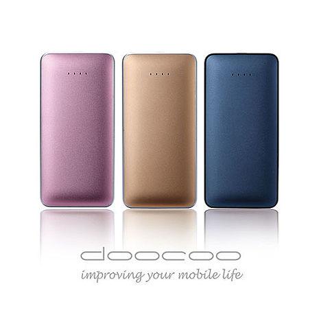 『16光棍』doocoo iPuff 7000 智能行動電源 - 日本Maxell電芯 (支援快速充放電)香檳金