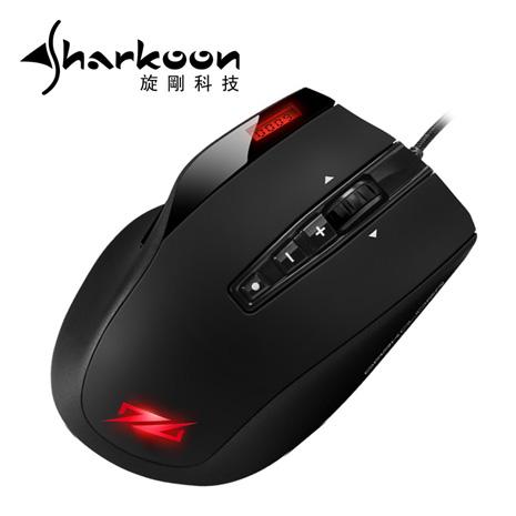 Sharkoon 旋剛 夜行者競技滑鼠(送夜行者競技鼠墊)