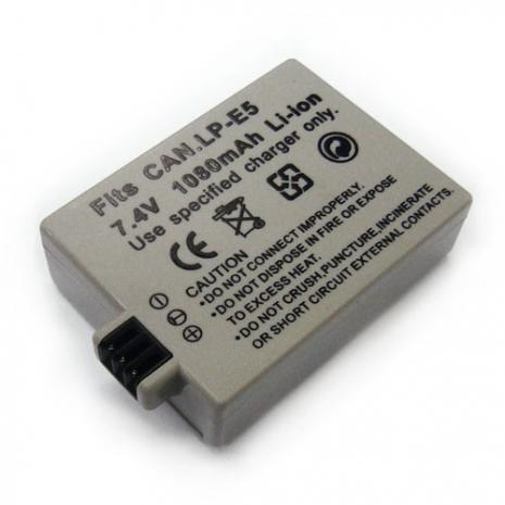Canon LP-E5 LPE5/ EOS-500D 1000D/ Kiss X3 數位相機電池 鋰電池 (副廠)