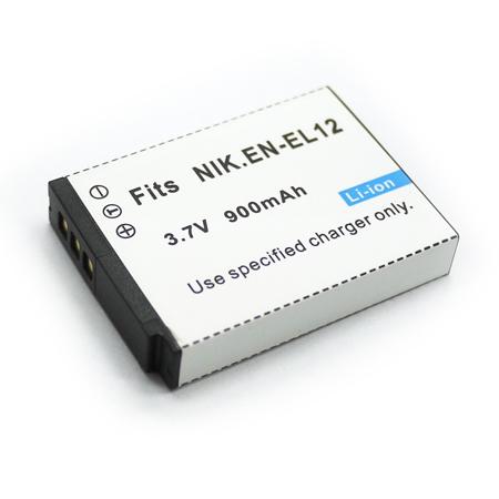 Nikon EN-EL12/ Coolpix S70 S1100PJ 數位相機電池 鋰電池 (副廠)