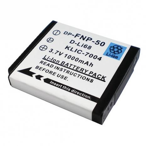 Fujifilm NP-50 NP50/ KLIC-7004/ D-Li68 數位相機電池 鋰電池 (副廠)