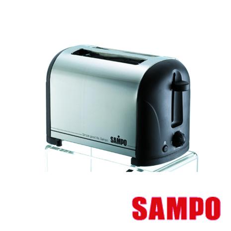 【聲寶SAMPO】不鏽鋼烤麵包機 TR-LA60S