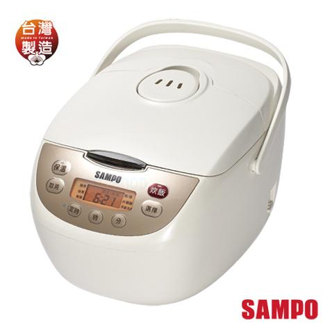 【聲寶SAMPO】10人份微電腦電子鍋 KS-BD18Q