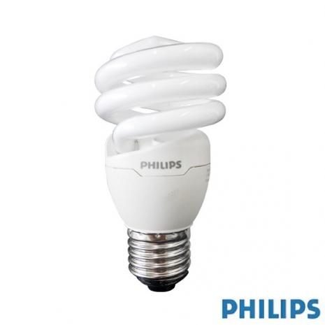 【飛利浦PHILIPS】Tornado 13W 超亮螺旋省電燈泡(2入)白光