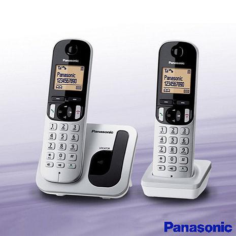 【國際牌Panasonic】DECT免持擴音雙子數位電話 KX-TGC212TW
