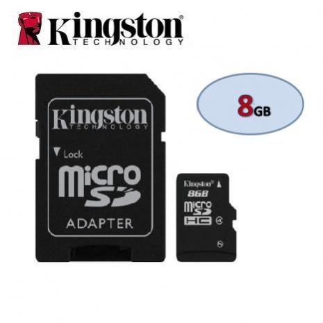 金士頓Kingston Micro SDHC CL4 8GB 記憶卡-3C電腦週邊-myfone購物