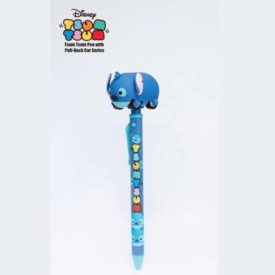 代理 迪士尼 Tsum Tsum迴力車筆 史迪奇 3入