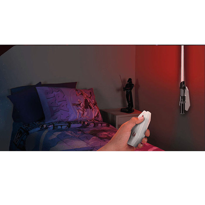 星際大戰 光劍造型遙控壁燈 達斯維達