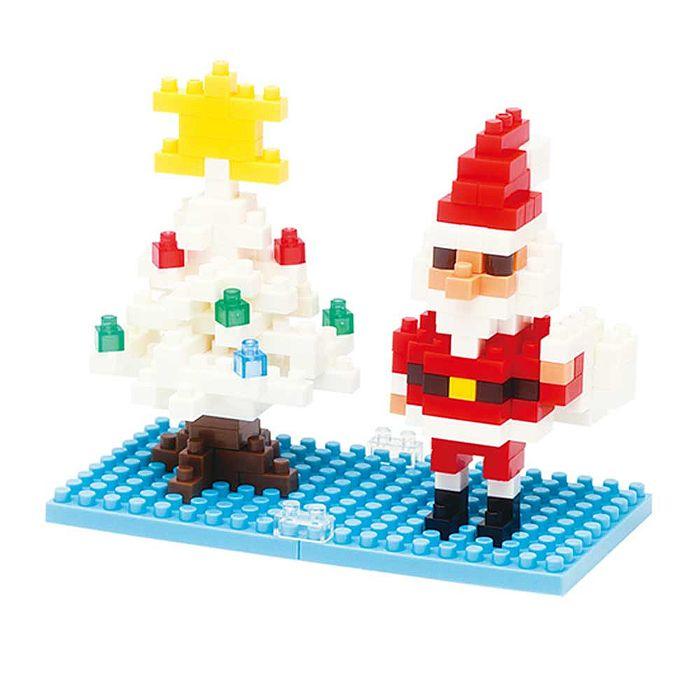 河田積木 KWD/積木 NBC-099 聖誕老人與雪花聖誕樹 代理