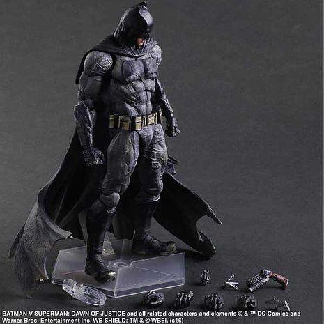 Play Arts 改 – 蝙蝠俠對超人:正義曙光-蝙蝠俠 代理